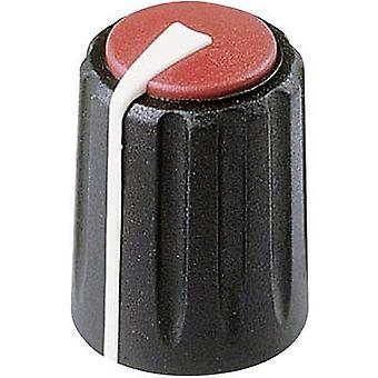 Rean F 317 S 092 Control knob Black, Red (Ø x H) 17 mm x 17.75 mm 1 pc(s)