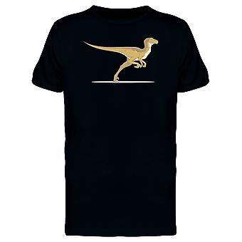 Raptor z jedną nogą Koszulka męska-obraz przez Shutterstock