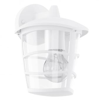 Eglo Aloria White Contemporary Outdoor Porch Down Lantern