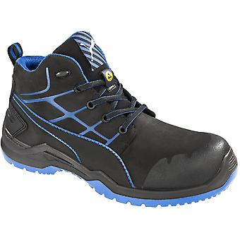 Puma Safety Footwear Mens Krypton Mid Anti Slip S3 Steel Toe Cap Safety Shoes