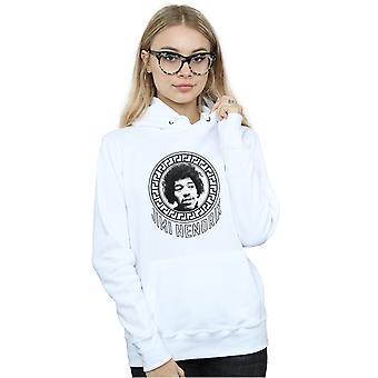 Jimi Hendrix vrouwen patroon cirkel Hoodie