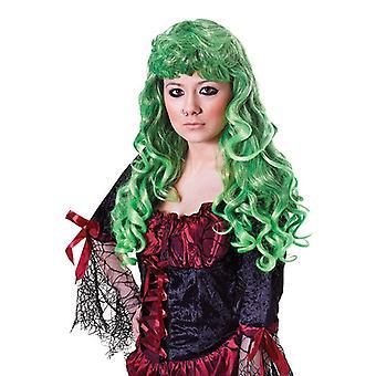Bnov Cheryl Wig groen/zwart