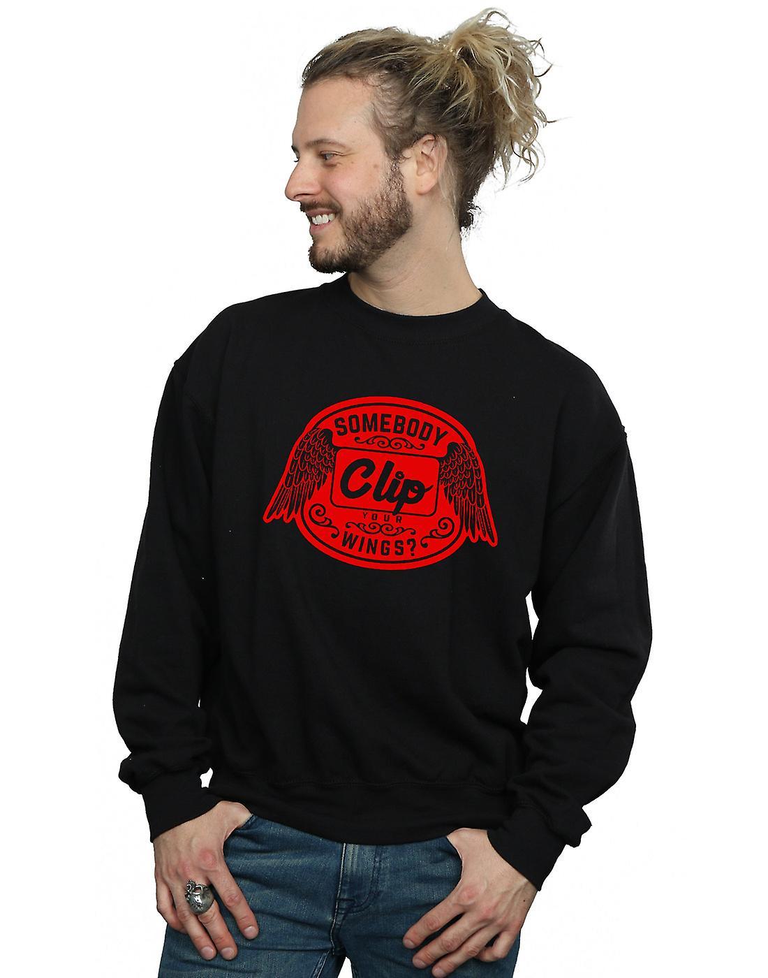 Supernatural Men's Clip Your Wings Sweatshirt