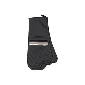 Ladelle Professional Series II Black Double Oven Mitt