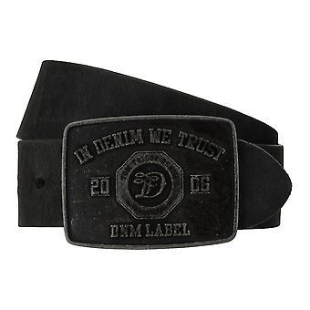 TOM TAILOR bälte läder kuter mäns bälten jeans bälte svart 7748
