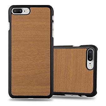 Funda Cadorabo para Apple iPhone 8 PLUS / iPhone 7 PLUS / iPhone 7S PLUS Case Cover - Hardcase Plastic Case Against Scratches and Bumps - Protective Case Bumper Ultra Slim Back Case Hard Cover