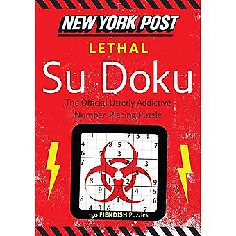 New York Post mortel Su Doku: 150 Puzzles diaboliques