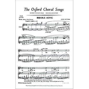 Riddle laulu: Alkaen kuvitelmat: SATB ja Piano tai Orkesteri