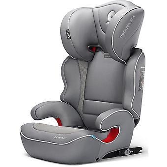 Apramo Ostara Fix Child Car Seat Group 2/3 Steel Grey