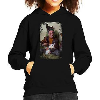 TV Zeiten Sid James zwei In Clover 1969 Kid Sweatshirt mit Kapuze