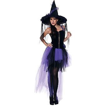 Magische heks volwassen kostuum
