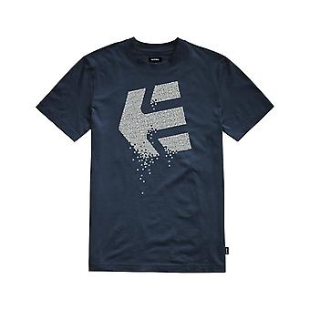 Etnies Matrix Kurzarm T-Shirt in Indigo