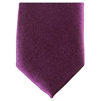 Knightsbridge Krawatten schmaler Krawatte aus Polyester - Türkis