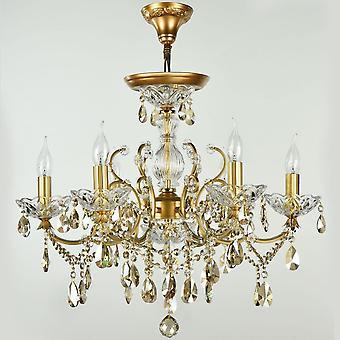 مايتوني الإضاءة إشبيلية Diamant كريستال الثريا، الذهب
