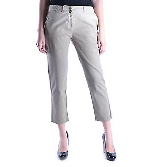 Incotex Ezbc093003 Women's Beige Cotton Pants
