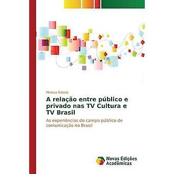 Un relao entre pblico e privado nas TV Cultura e TV Brasil de Rabelo Melissa