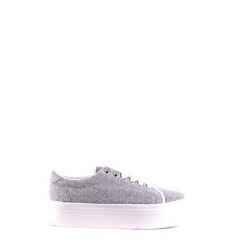 Jeffrey Campbell Ezbc132042 Women's Grey Fabric Sneakers