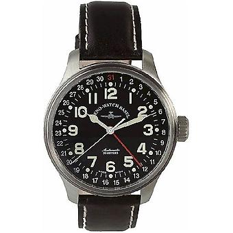 Zeno-Watch Herrenuhr OS Pilot Pointer date 8554Z-a1