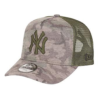 New Era 9Forty Trucker Kids Cap-New York Yankees wood camo