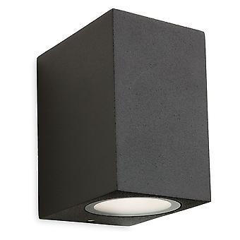Firstlight-Single Outdoor Wall Light Graphite IP54-2333GP
