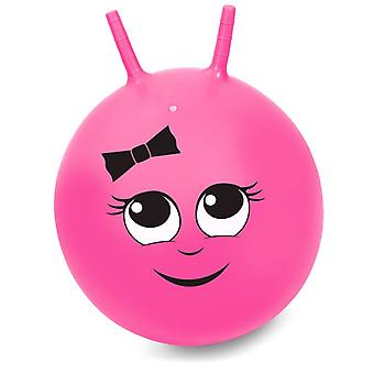 45cm roze Junior Sally Space Hopper