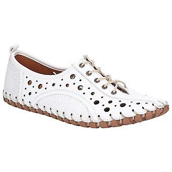 Riva Womens/Ladies Haiti Lace Up Leather Shoe