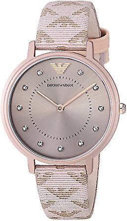 Emporio Armani Ar11010 Kappa Pink Women's Strap Watch