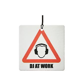 DJ bei der Arbeit Auto-Lufterfrischer