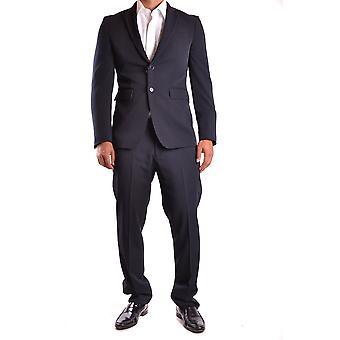 Marciano Ezbc318001 Men's Blue Polyester Suit