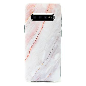 Samsung Galaxy S10 | Soft, Black Marblecase