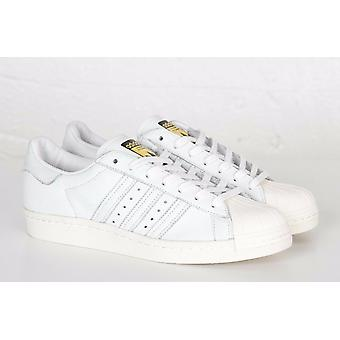 Details about Adidas Superstar Junior Youth White Black Leather Matt Trainers UK Size 3 6,5