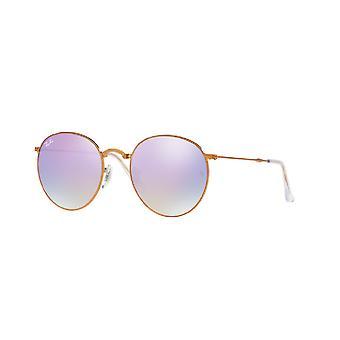 Ray-Ban Round Metal Folding Sunglasses - RB3532-198/7X-50