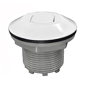 Press Air Trol PATB225WF Contemporary Flush Air Button- White