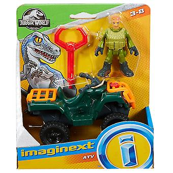 Fisher-Pret Imaginext Jurassic lume ATV Quad