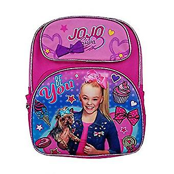 Small Backpack - JoJo Siwa - Pink Cupcake 3D Pop-Up New 142216-2
