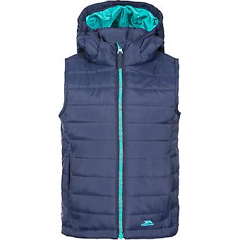 Trespass Girls Aretha Insulated Lightly Padded Hooded Gilet