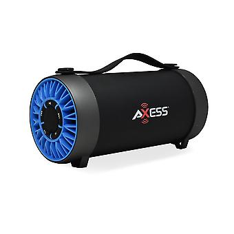 Axess draagbare Bluetooth media speaker met 4