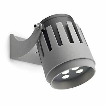LED 9 licht grote outdoor Spotlight grijs Ip65