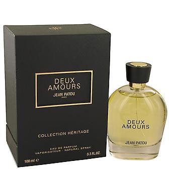 Deux amours eau de parfum spray jean patou 537798 100 ml