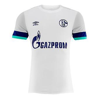 2019-2020 Schalke Umbro Away Football Shirt