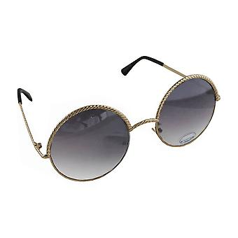 Sunglasses Ladies Round - Gold/Lichtzwart1903_6