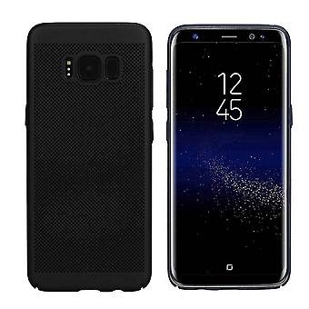 Samsung S8 and S8 Duos Case Black - Mesh Holes
