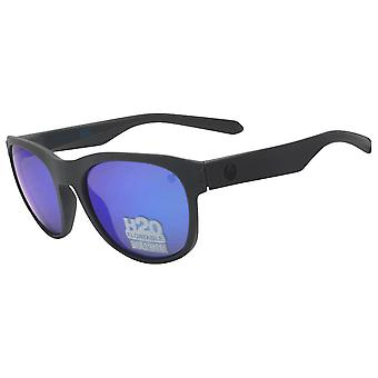 Dragon Alliance DR Subflect H2O Sunglasses Matte Grey Frame with Blue Ion Lens