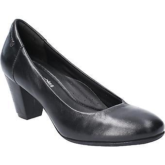 Hush Szczenięta Kobiety Erin Slip Na skórzane buty dworskie na obcasie