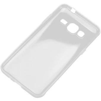Perlecom Back cover Samsung Galaxy J3 (2016) Transparant
