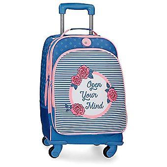 Roll Road Rose Backpack - 44 cm - Blue (Azul) 4482861