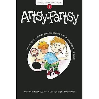 Artsy-Fartsy (die Aldo Zelnick Comic-Roman-Serie)