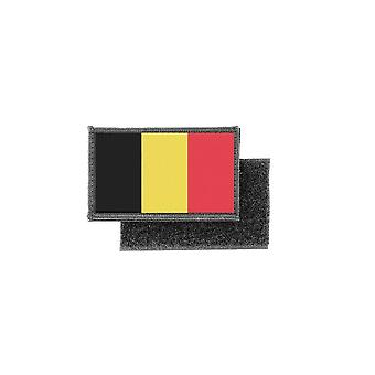 Patch ecusson prints Belgian flag badge