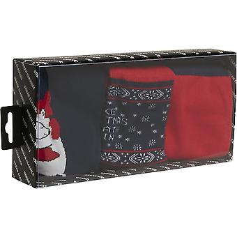 Urban Classics - Christmas ICEBEAR Socken 3er Pack