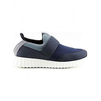 Made in Italia - Schoenen - Sneakers - LEANDRO-BLU-GRIGIO - Heren - Blauw - 44